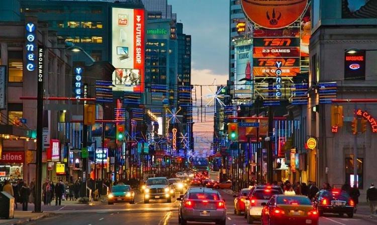 Yonge Street a Toronto