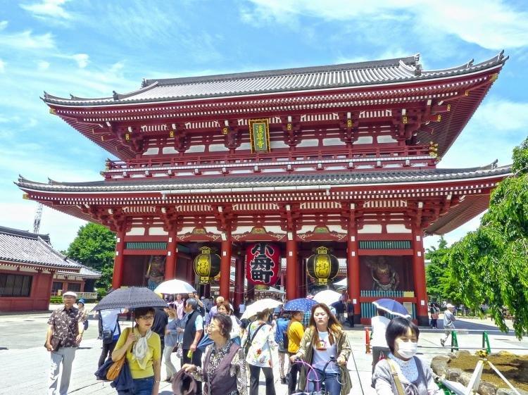 Senso-ji a Tokyo