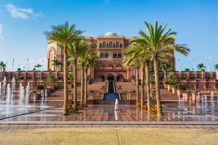 Emirates Palace ad Abu Dhabi