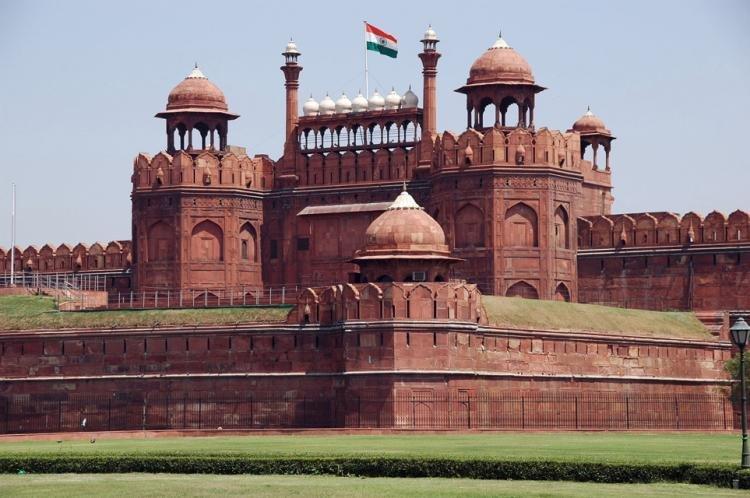 Lal Qila di Nuova Delhi