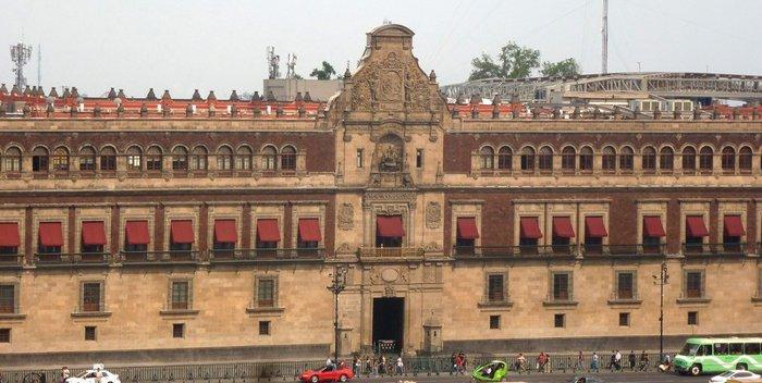 Palacio Nacional a Città del Messico