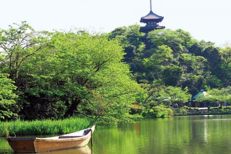 Giardino di Sankei-en a Yokohama