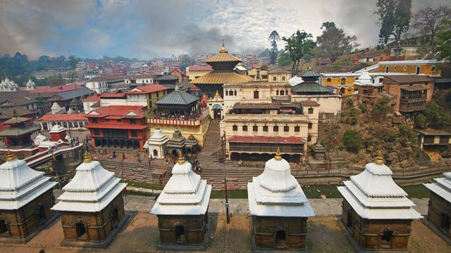 Tempio di Pashupatinath a Kathmandu