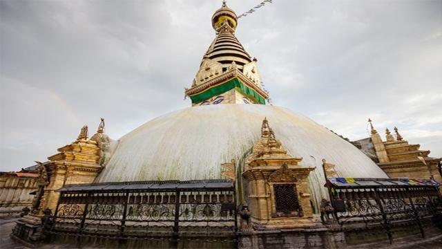 Tempio di Swayambhunath a Kathmandu