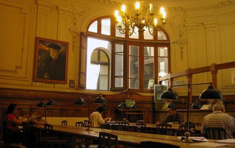 Biblioteca Nacional di Santiago del Cile