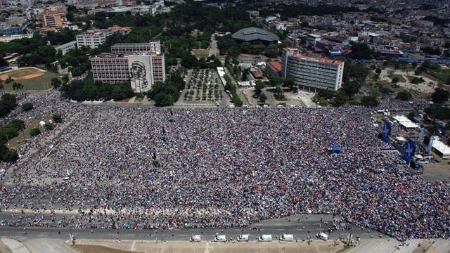 Plaza de la Revolucion a L'Avana