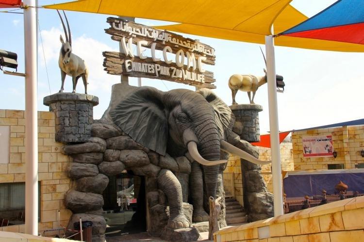Emirates Park Zoo ad Abu Dhabi