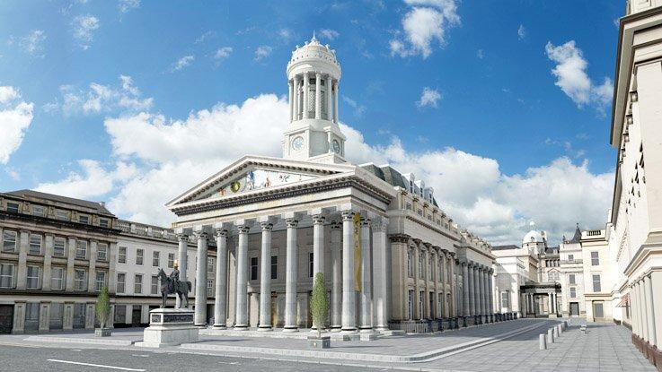 Gallery of Modern Art di Glasgow
