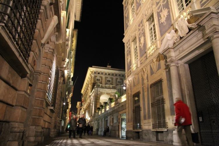 Via Garibaldi e Musei di Strada Nuova a Genova