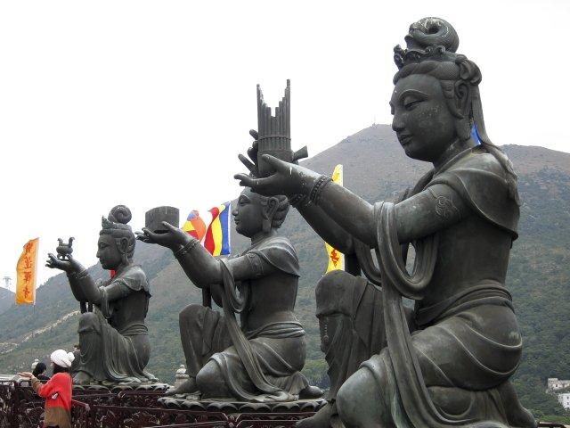 Monastero di Po Lin e Grande Buddha a Hong Kong