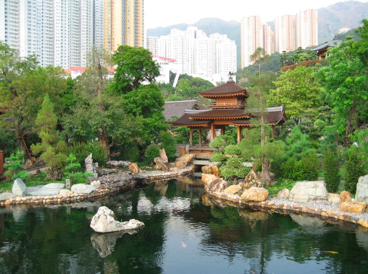 Giardino Nan Lian di Hong Kong