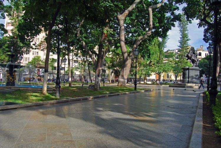 Plaza Bolìvar a Caracas