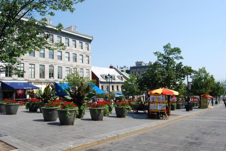 Place Jacques Cartier a Montreal