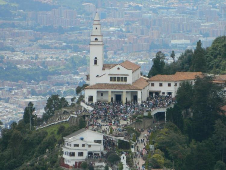 Santuario di Monserrate a Bogotà