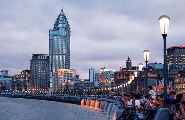Bund a Shanghai