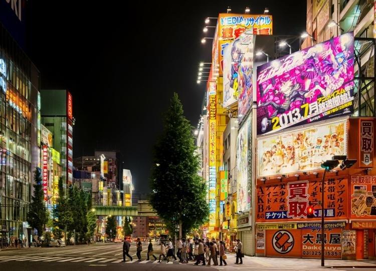 Akihabara Electric Town  a Tokyo