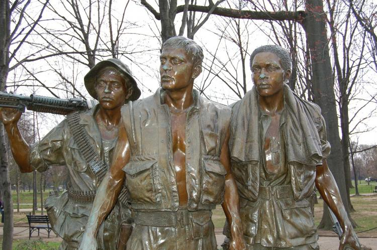 Vietnam Veterans Memorial a Washington