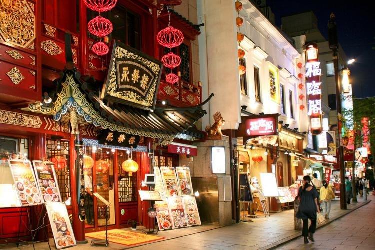 Chinatown a Yokohama