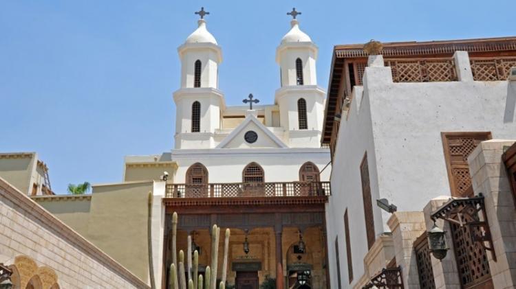 Chiesa Sospesa a Il Cairo