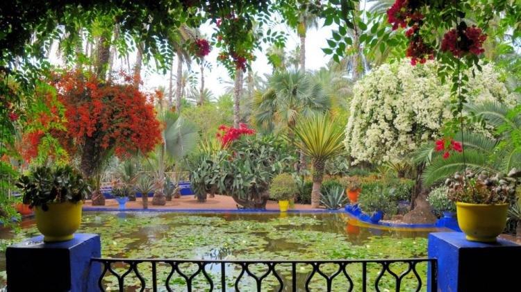 Giardino Majorelle a Marrakech