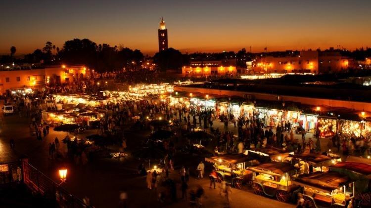 Cosa fare a Marrakech di sera
