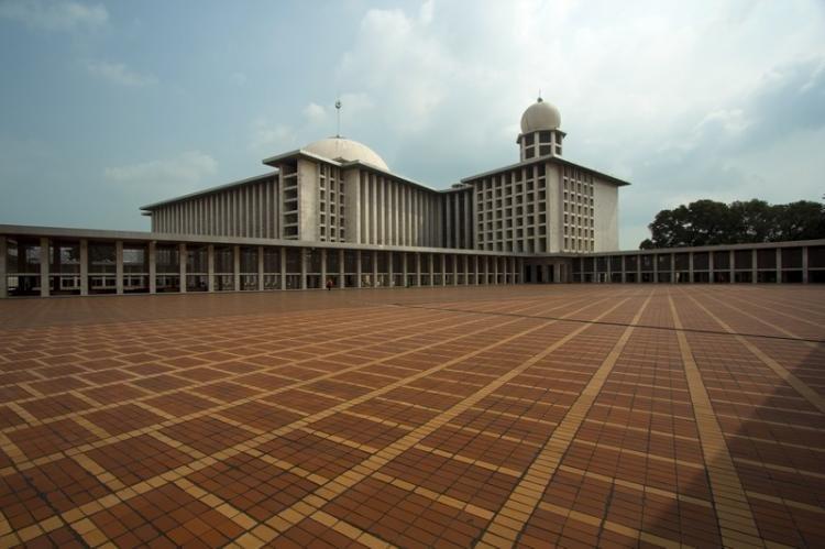 Moschea di Istiqlal a Giacarta