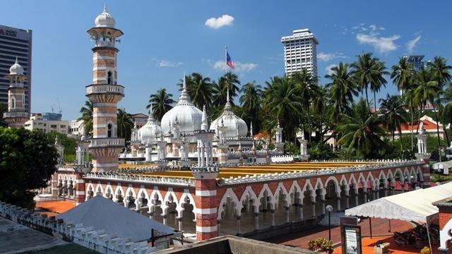 Moschea Jamek a Kuala Lumpur