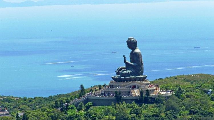 Lantau Island a Hong Kong