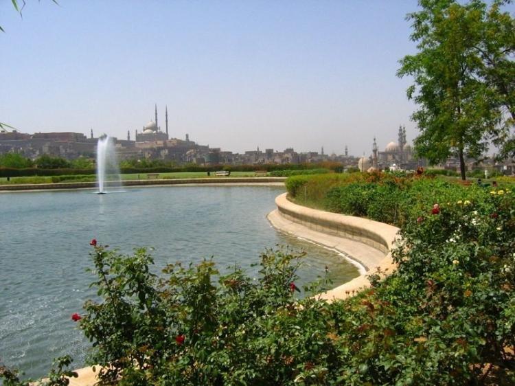 Parco di Al-Azhar a Il Cairo