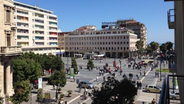 Piazza della Rinascita a Pescara