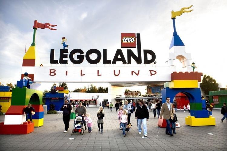 Parco divertimenti Legoland Billund