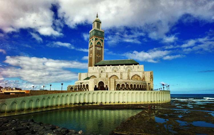 Moschea di Hassan II a Casablanca