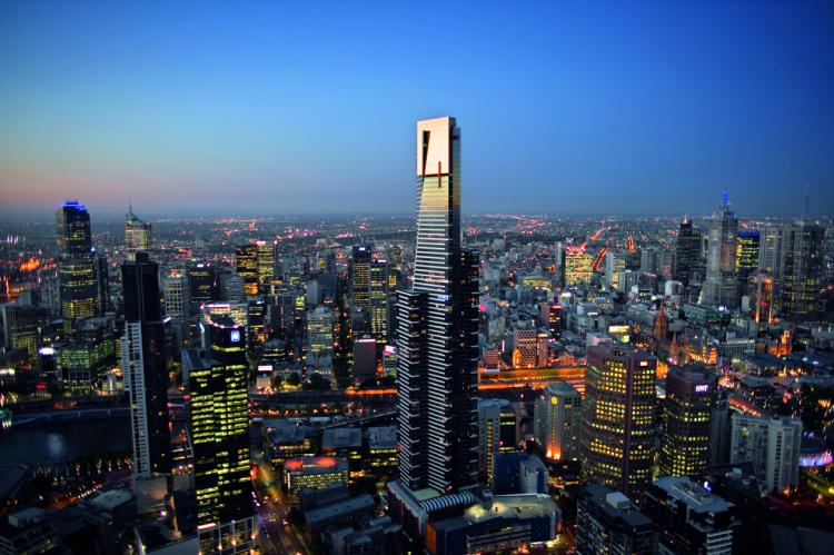 Eureka Tower a Melbourne