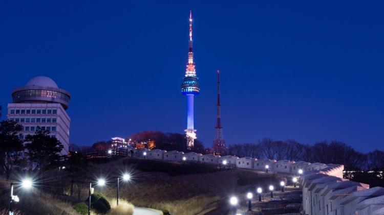 N Seoul Tower a Seul