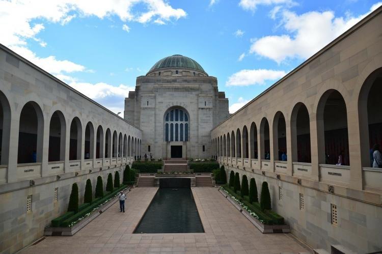 Australian War Memorial a Canberra