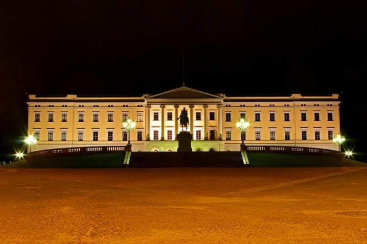Palazzo Reale a Oslo