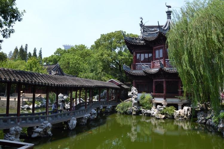 Giardini di Yuyuan a Shanghai