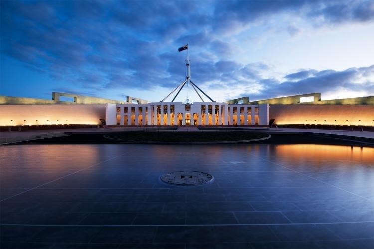 Parliament House di Canberra