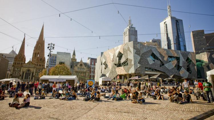 Federation Square di Melbourne