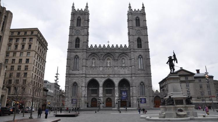 Basilica di Notre Dame a Montreal