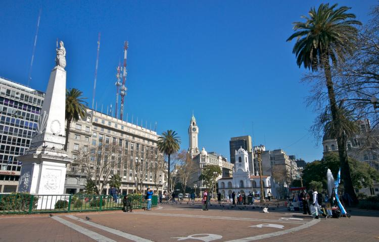 Plaza de Mayo a Buenos Aires