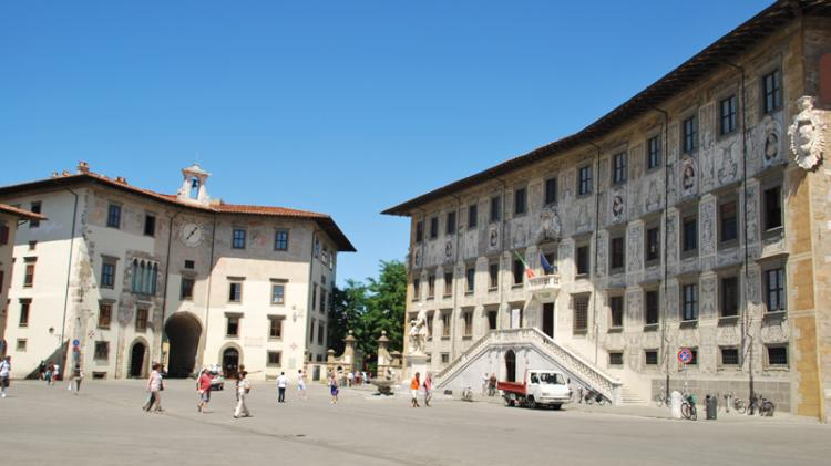 Piazza dei Cavalieri a Pisa