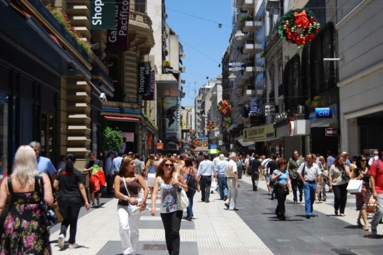 Avenida Florida a Buenos Aires