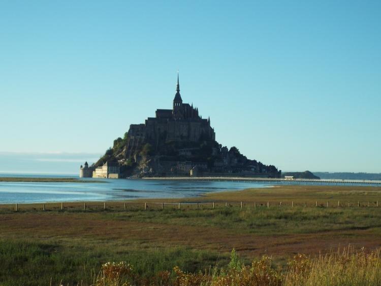 L'arrivo dell'alta marea a Mont Saint-Michel