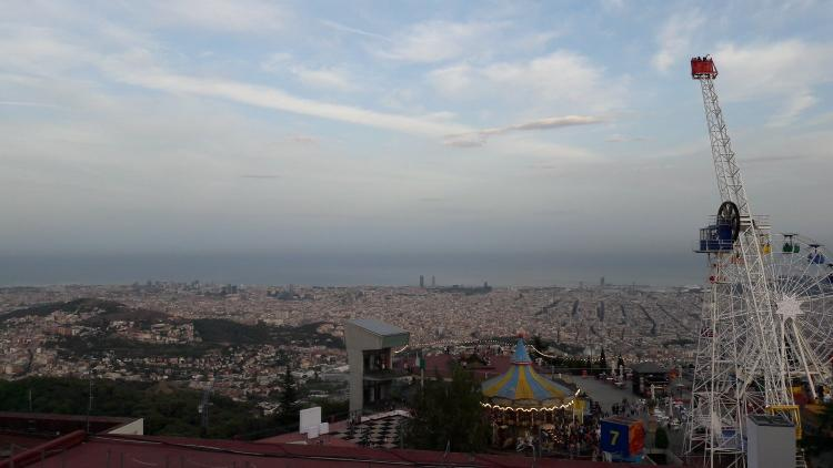 Alla scoperta di Barcellona: la città vecchia, il mare e il Tibidabo