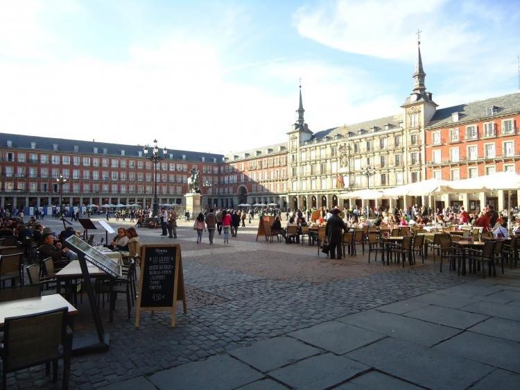 Un assolato e fortunato viaggio d'inverno a Madrid