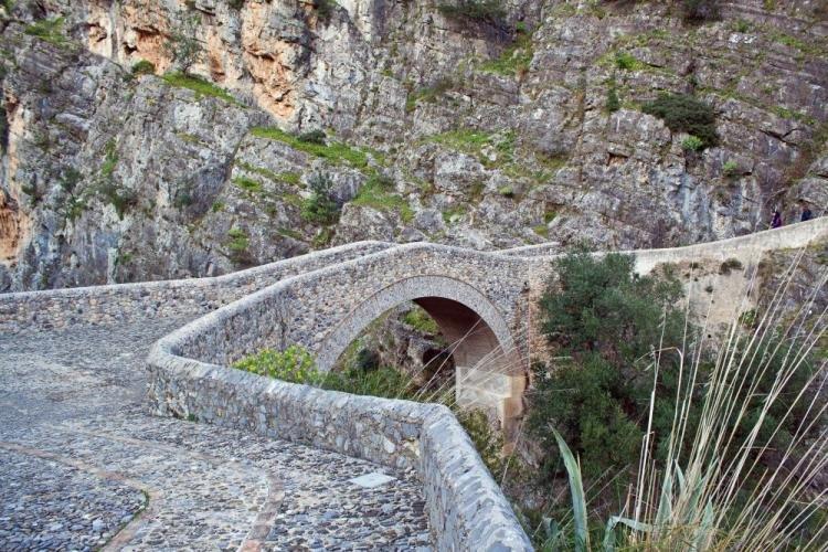 Ponte del Diavolo a Civita, in Calabria
