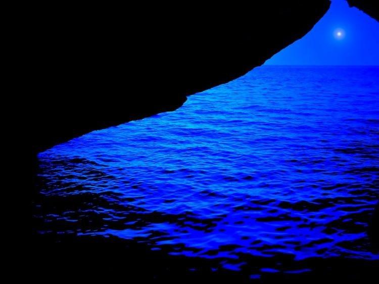 Grotta Azzurra a Castro in Salento