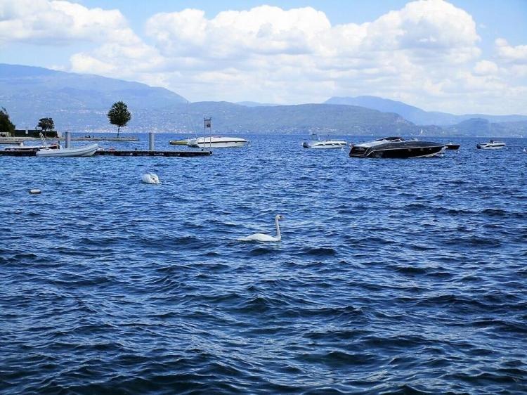 Lago di Garda, località: San Felice del Benaco e Manerba del Garda