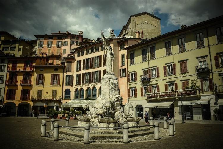 Visitando Lovere in provincia di Bergamo